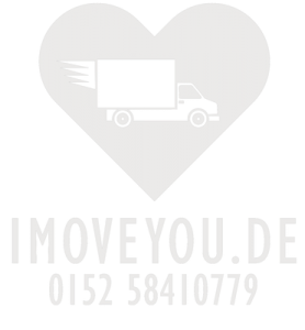 I MOVE YOU Umzugsunternehmen Logo mit Rufnummer